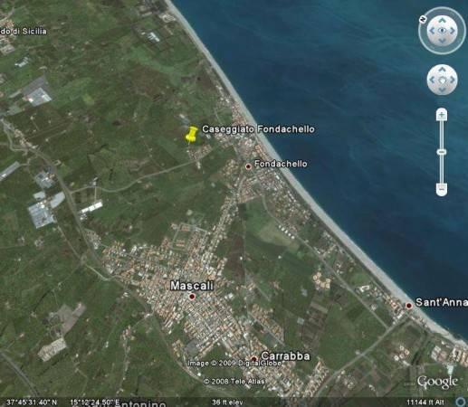 Terreno Edificabile Residenziale in vendita a Mascali, 9999 locali, prezzo € 500.000   CambioCasa.it