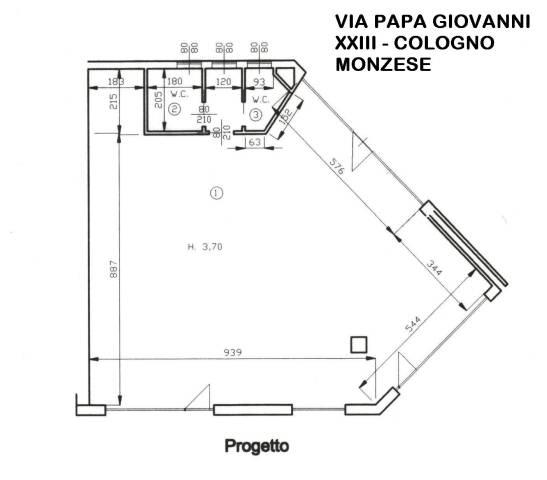Negozio / Locale in vendita a Cologno Monzese, 2 locali, prezzo € 225.000 | CambioCasa.it
