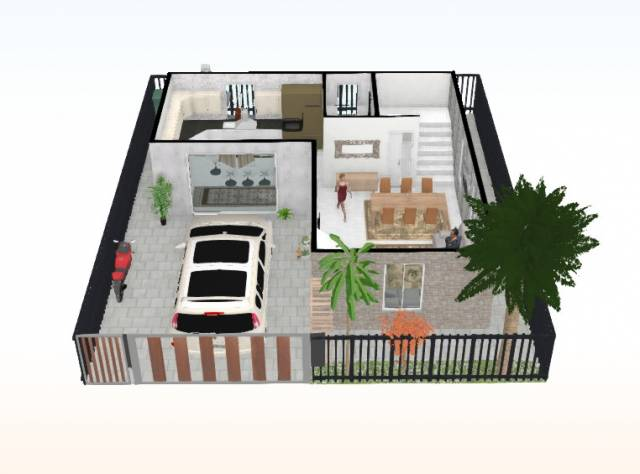 Villa in vendita a San Mauro Torinese, 4 locali, prezzo € 190.000 | CambioCasa.it