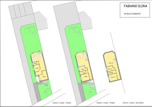 Terreno Edificabile Residenziale in Vendita a Fagnano Olona