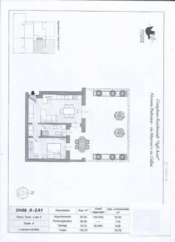Appartamento in affitto a Noventa Padovana, 2 locali, prezzo € 500 | CambioCasa.it