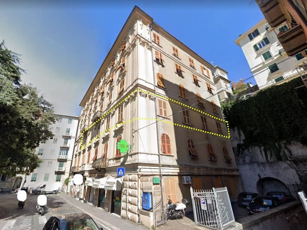 Appartamento in vendita a Genova, 9 locali, zona Zona: 2 . Foce, Castelletto, Albaro, Carignano, Medio Levante, prezzo € 148.000   CambioCasa.it