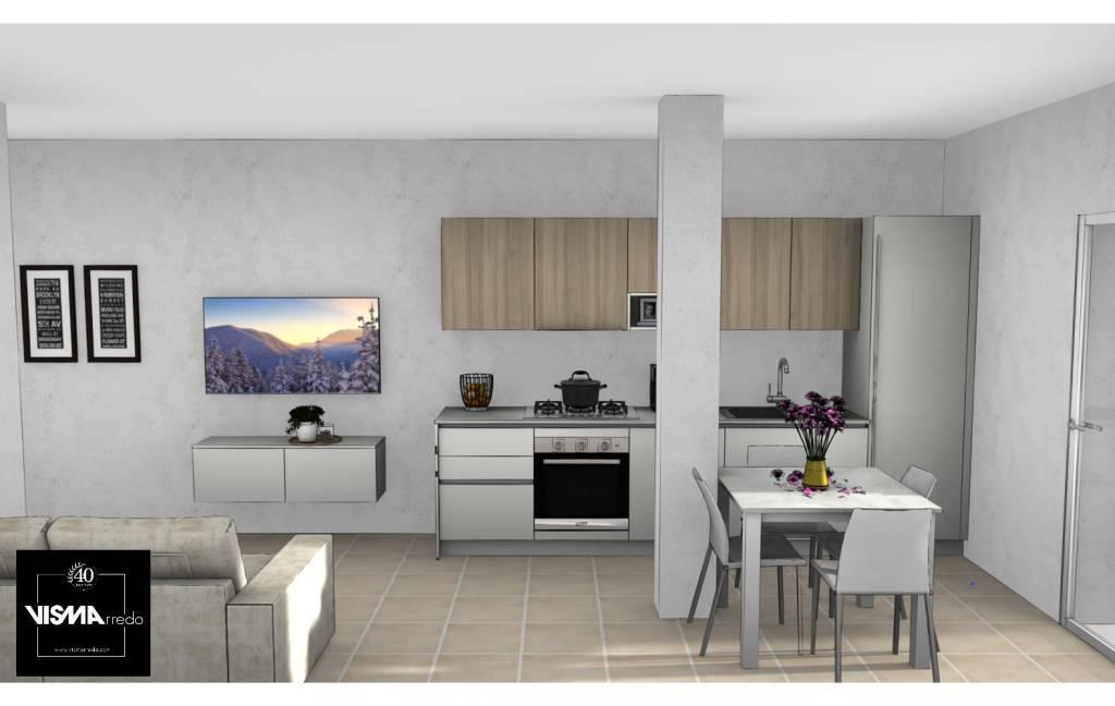 Appartamento in vendita a Camisano Vicentino, 3 locali, prezzo € 43.000 | CambioCasa.it