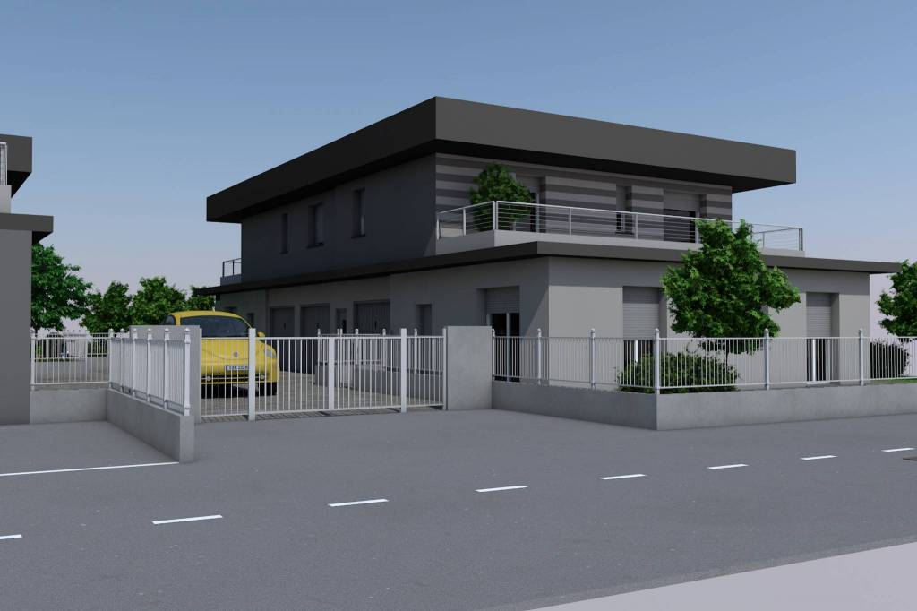 Appartamento in vendita a Fara Gera d'Adda, 4 locali, prezzo € 220.000 | CambioCasa.it