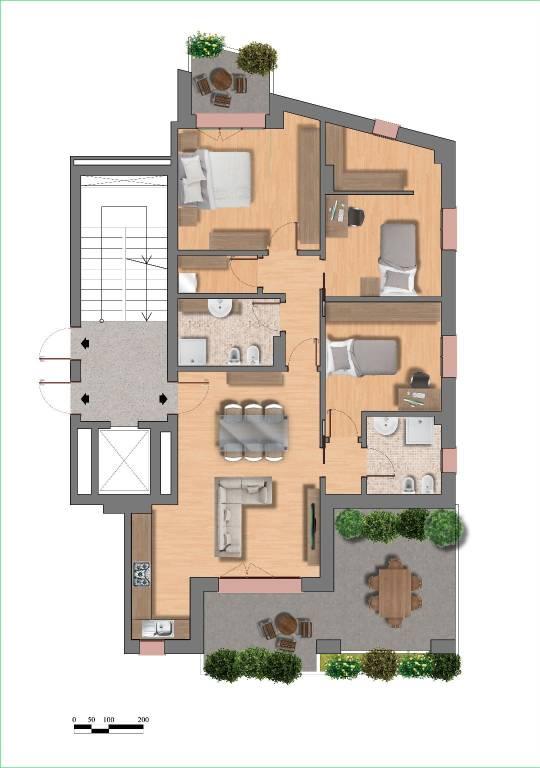 Attico / Mansarda in vendita a San Pietro in Casale, 3 locali, prezzo € 276.000 | PortaleAgenzieImmobiliari.it