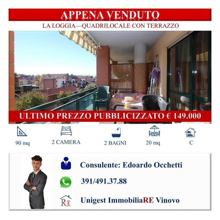Appartamento in vendita a La Loggia, 4 locali, prezzo € 149.000 | PortaleAgenzieImmobiliari.it
