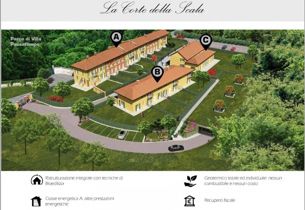 Villa a Schiera in vendita a Pecetto Torinese, 9999 locali, prezzo € 243.000   PortaleAgenzieImmobiliari.it