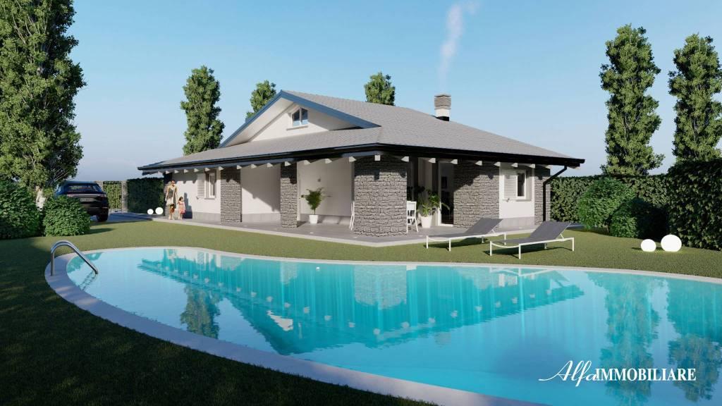 Villa in vendita a Riano, 3 locali, prezzo € 310.000 | CambioCasa.it