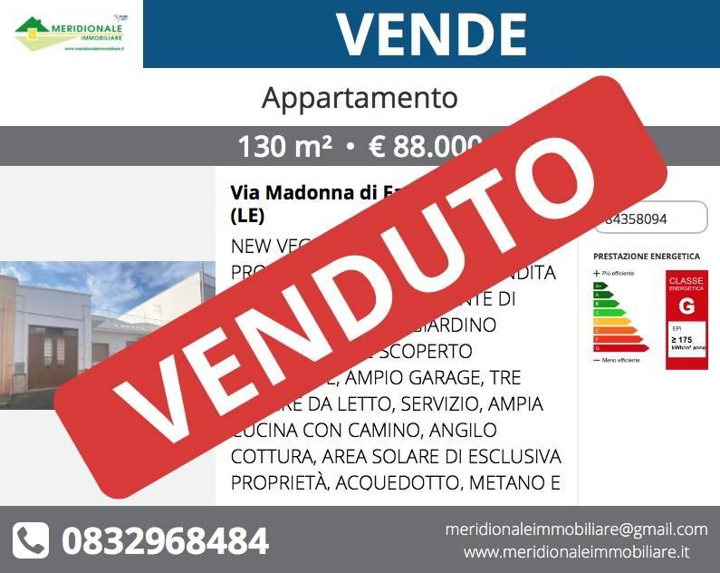 Appartamento in vendita a Veglie, 5 locali, prezzo € 88.000   PortaleAgenzieImmobiliari.it