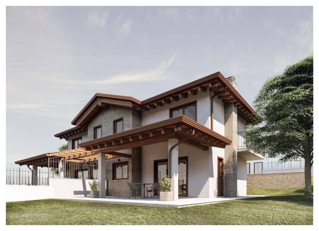 Villa in vendita a Castel San Pietro Romano, 4 locali, prezzo € 270.000   CambioCasa.it
