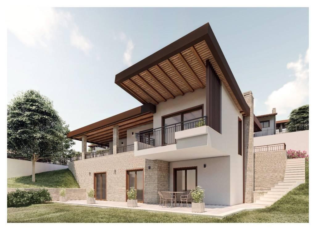 Villa in vendita a Castel San Pietro Romano, 5 locali, prezzo € 370.000   CambioCasa.it