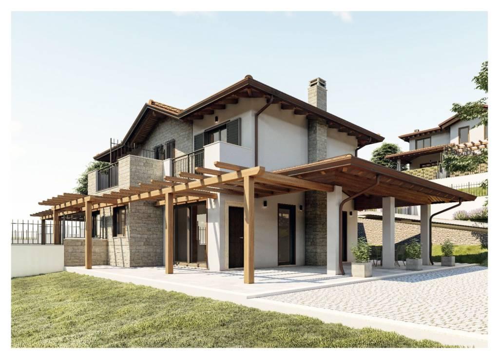 Villa in vendita a Castel San Pietro Romano, 4 locali, prezzo € 280.000   CambioCasa.it