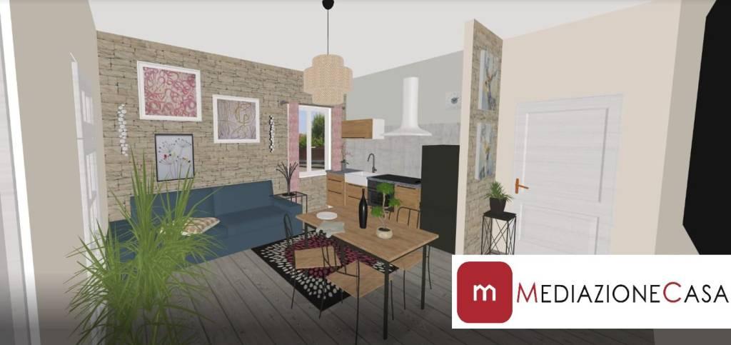 Appartamento in vendita a Roma, 2 locali, zona Zona: 35 . Setteville - Casalone - Acqua Vergine, prezzo € 50.000 | CambioCasa.it