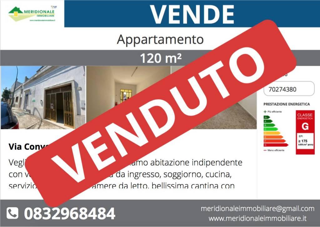 Appartamento in vendita a Veglie, 4 locali, prezzo € 75.000 | PortaleAgenzieImmobiliari.it