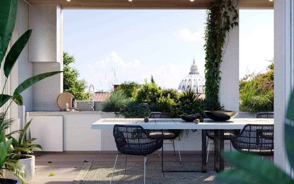 Appartamento in vendita a Roma, 3 locali, zona Zona: 26 . Gregorio VII - Baldo degli Ubaldi, prezzo € 1.035.000 | CambioCasa.it
