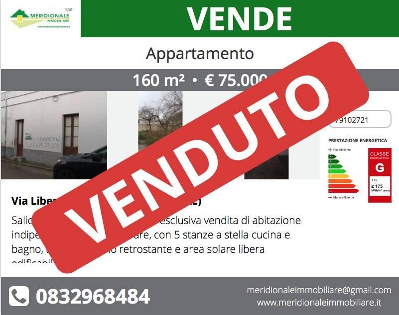 Appartamento in vendita a Salice Salentino, 6 locali, prezzo € 75.000 | CambioCasa.it