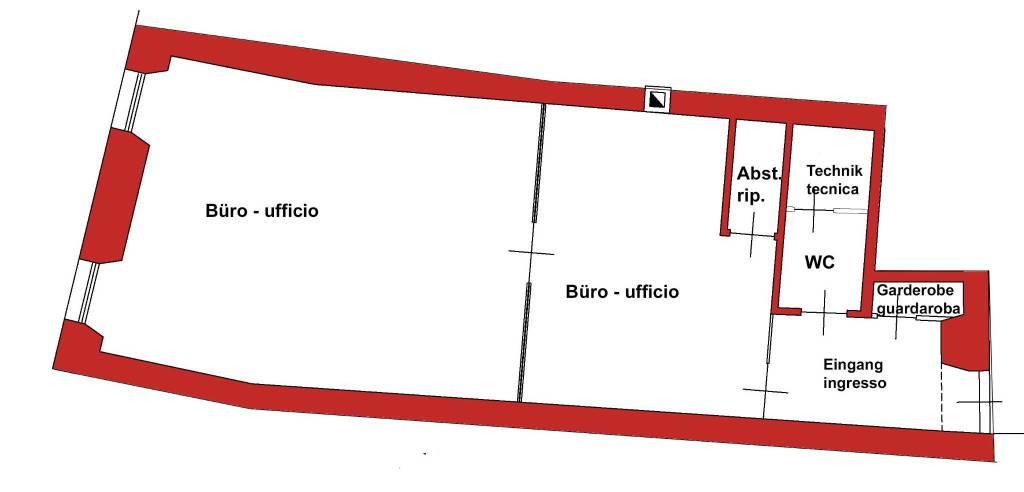 Ufficio / Studio in affitto a Bolzano, 2 locali, prezzo € 1.100 | PortaleAgenzieImmobiliari.it