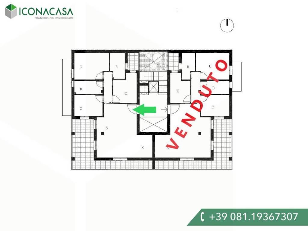 Appartamento in vendita a Giugliano in Campania, 4 locali, Trattative riservate   CambioCasa.it