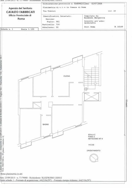 Appartamento in vendita a Roma, 4 locali, zona Zona: 16 . Appia nuova - Alberone - Colli Albani, prezzo € 265.000 | CambioCasa.it