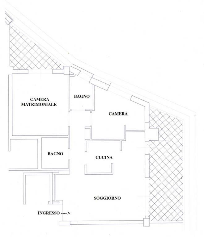 Appartamento in vendita a Fiumicino, 3 locali, prezzo € 185.000   PortaleAgenzieImmobiliari.it