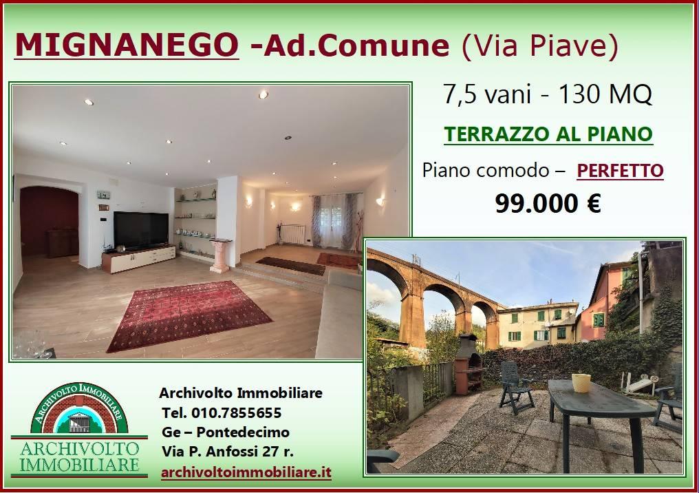 Foto 1 di Appartamento via Piave, frazione Barriera, Mignanego