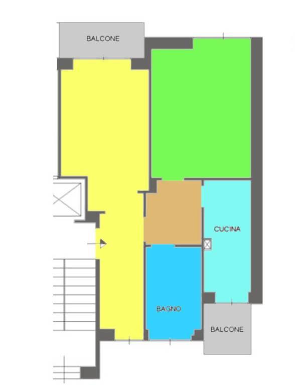 Appartamento in vendita a Roma, 2 locali, zona Zona: 20 . Marconi - Ostiense, prezzo € 170.000   CambioCasa.it