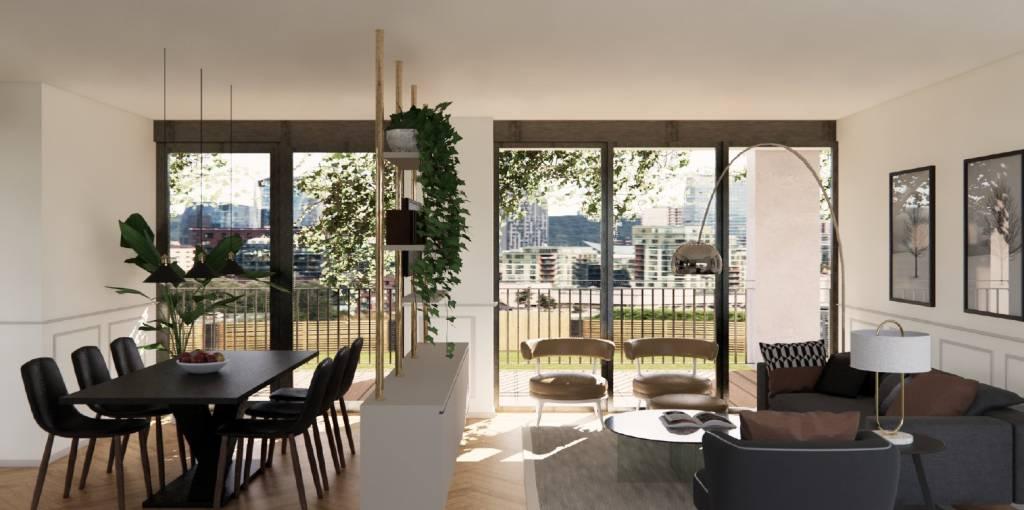 Appartamento in vendita a Milano, 3 locali, zona Quarto Oggiaro, Villapizzone, Certosa, Vialba, prezzo € 440.000 | PortaleAgenzieImmobiliari.it
