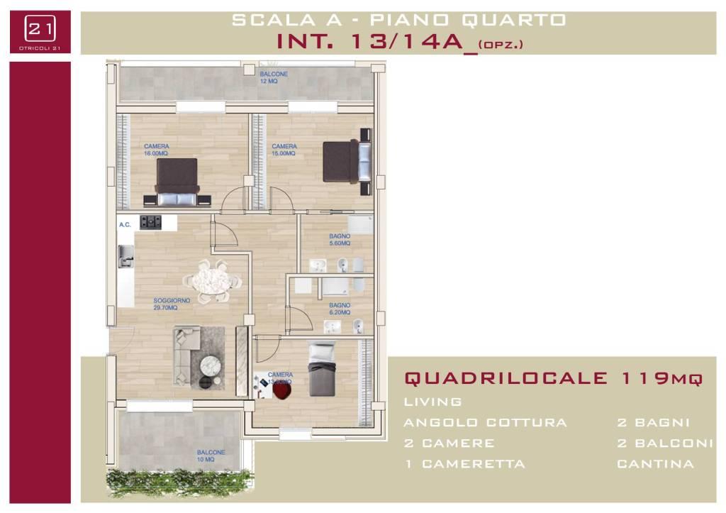 Appartamento in vendita a Roma, 4 locali, zona Zona: 15 . Appio Latino, Appia Antica, Furio Camillo, Alberone, prezzo € 640.000   CambioCasa.it