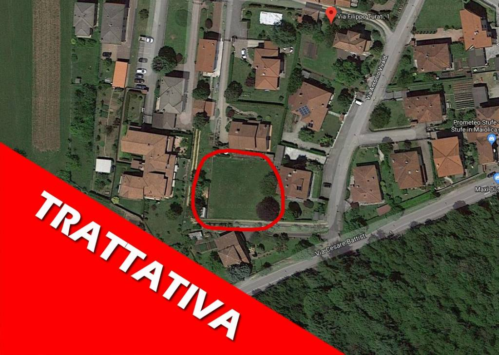 Terreno Edificabile Residenziale in vendita a Daverio, 9999 locali, prezzo € 75.000 | PortaleAgenzieImmobiliari.it