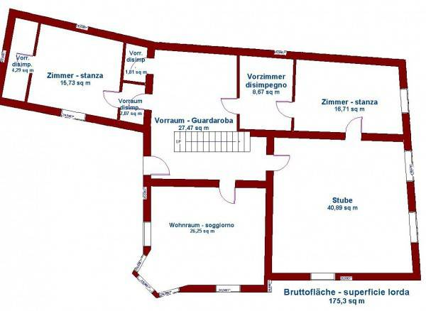 Appartamento in vendita a Salorno, 6 locali, Trattative riservate | PortaleAgenzieImmobiliari.it