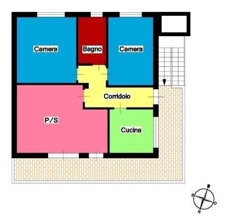 Appartamento in Vendita a Messina Periferia Nord: 3 locali, 85 mq