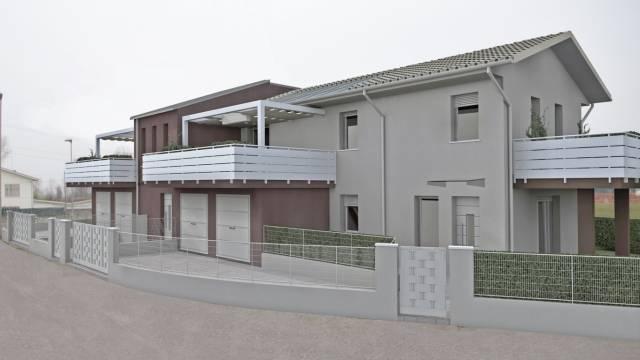 ROBEGANO Prenotasi nuovi signorili appartamenti in contesto di sole 4 unità, con le tre camere e sp