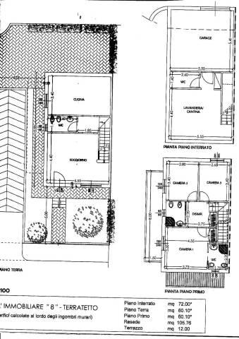 Casa indipendente in Vendita a Montopoli In Val D'Arno Periferia: 5 locali, 155 mq
