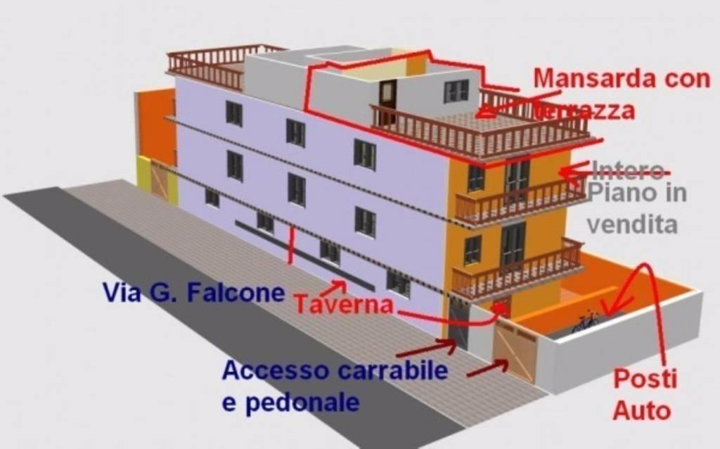 Appartamento in buone condizioni in vendita Rif. 7796089