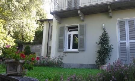 Casa storica con giardino a Toceno