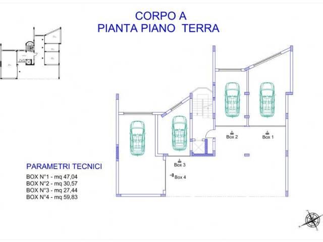 BOX N.2 DA 30,57 mq. PRONTA CONSEGNA