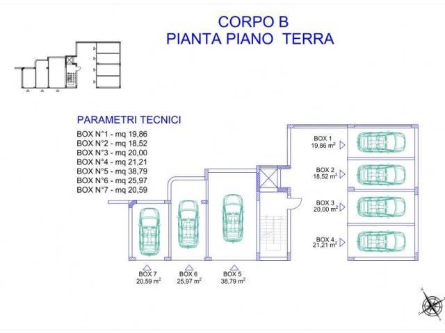 BOX N.4 DA 21,21 mq. PRONTA CONSEGNA