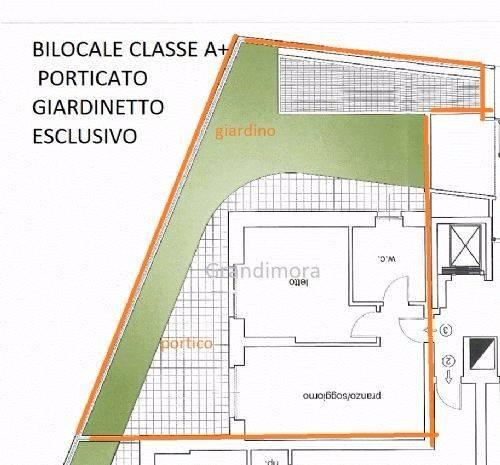 Bilocale Bergamo Via Enrico Scuri 8