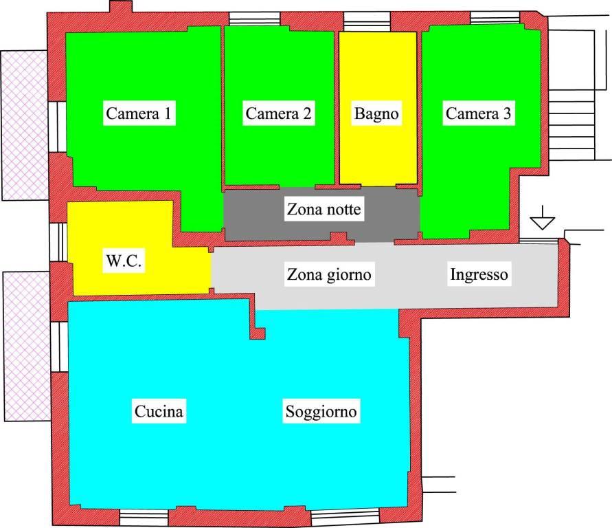 Appartamento in buone condizioni in vendita Rif. 8776582