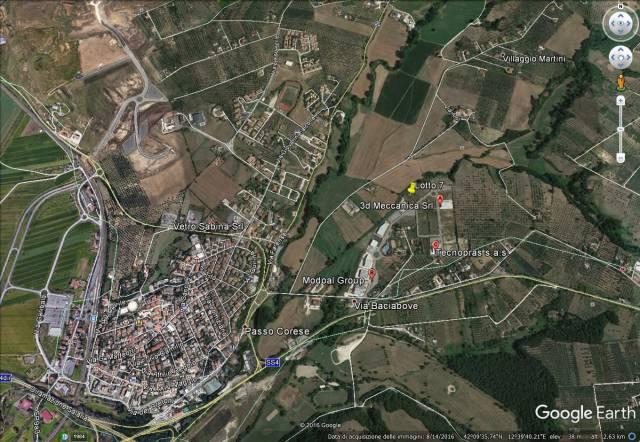 Vendesi terreno artigianale Passo Corese Rif. 4945842