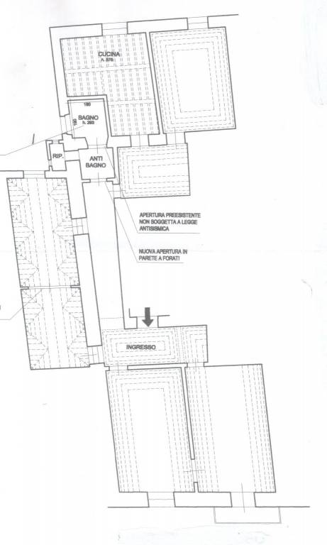 Appartamento in Vendita a Pisa Centro:  5 locali, 170 mq  - Foto 1