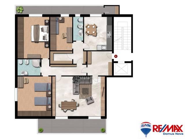 Appartamento in vendita a Gravina di Catania, 5 locali, prezzo € 195.000   Cambio Casa.it
