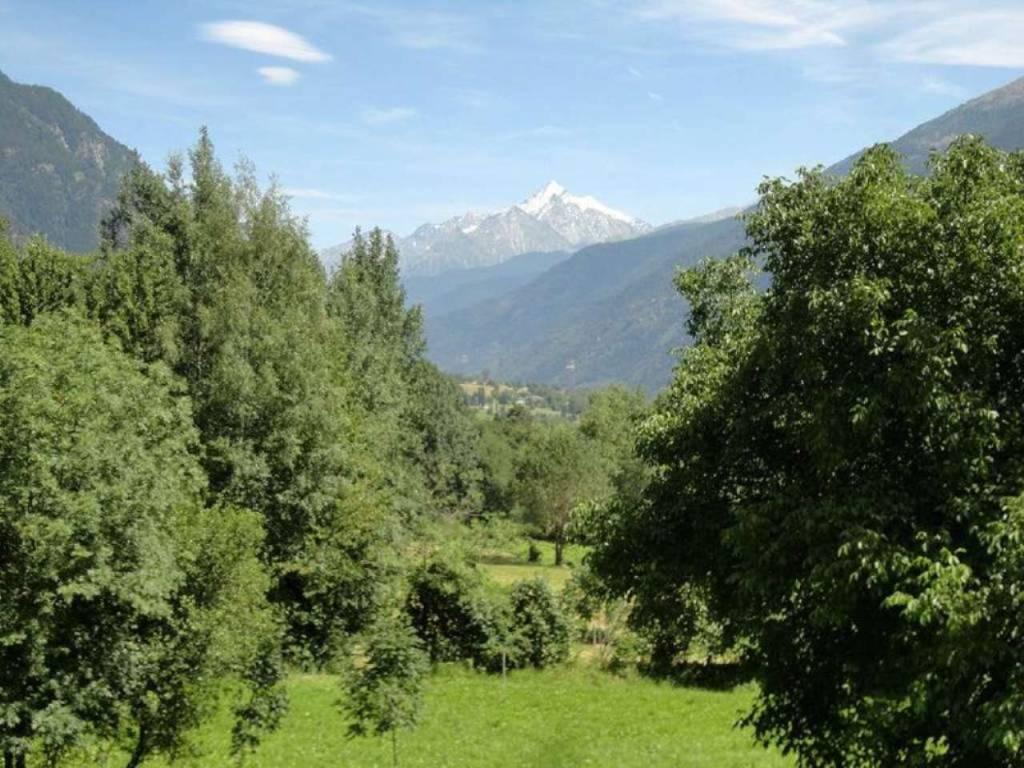 Morgex - Villair: soleggiati 78 mq vista Grivola e Chateau