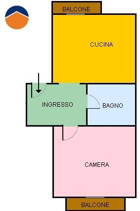 Bilocale Torino Via Pettinengo, 4 13