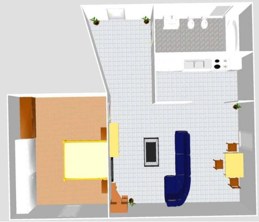Appartamento in vendita a Bargagli, 3 locali, prezzo € 55.000 | CambioCasa.it