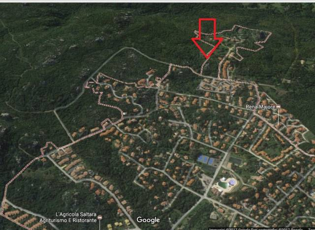 Terreno edificabile con vista mare - Rena Majore Rif. 4909838