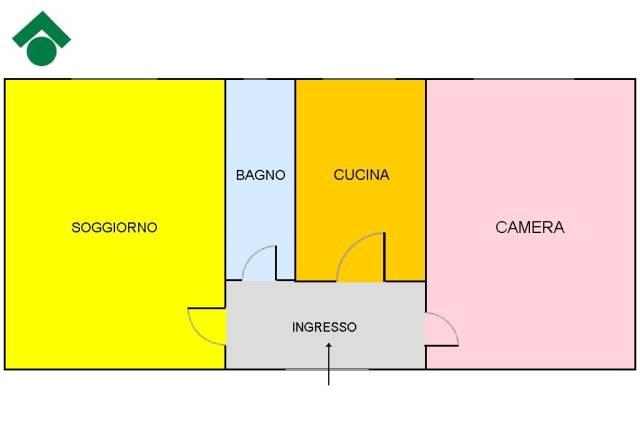 Bilocale Napoli Via E. A. Mario 3