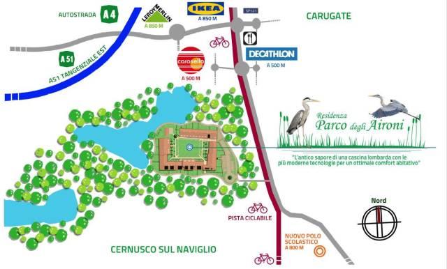 Bilocale Cernusco sul Naviglio Strada Provinciale 121 Pobbiano - Cavenago 9