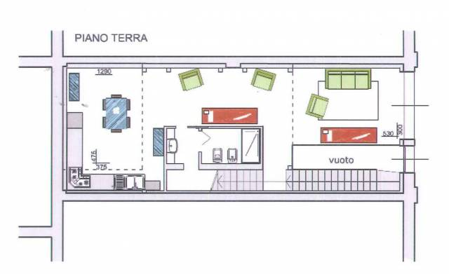 Loft / Openspace in vendita a Somaglia, 3 locali, prezzo € 76.000   Cambio Casa.it