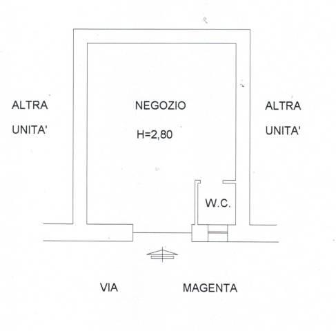 Locale commerciale via magenta Rif. 4381621